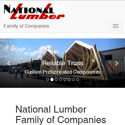 Reliable is a member of the National Lumber of Family of Companies
