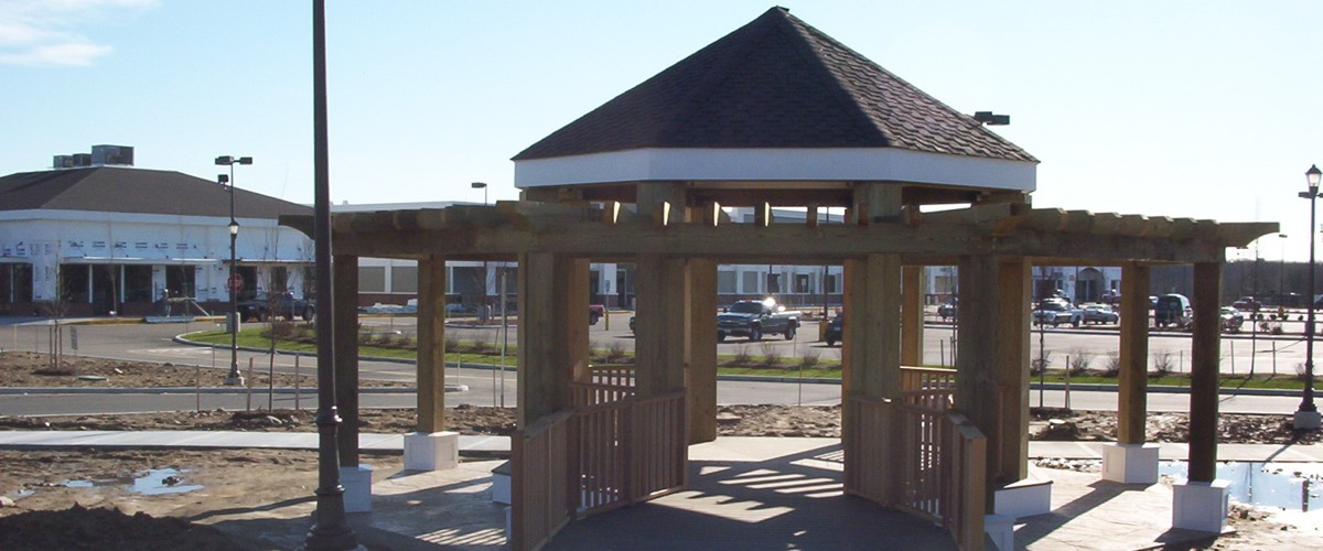 Custom Gazebo at Jobsite