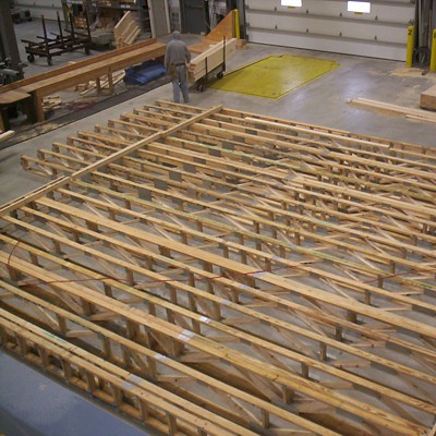 Floor Truss Panel Production