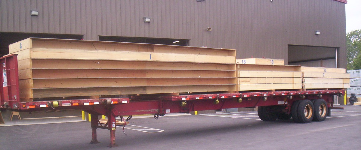 Floor Panels Prepared for Delivery