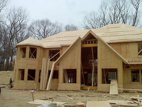 Wood Trusses, Oyster Cove, NY