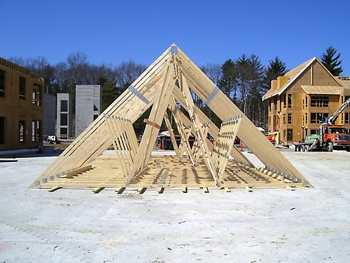 Wood Roof Trusses, Dedham, MA